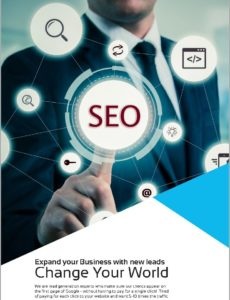 SEO brochure cover